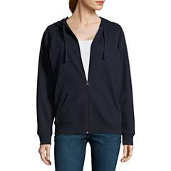 St. John's Bay Active Lightweight Fleece Jacket