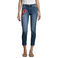 i jeans by Buffalo Rose Embroidered Skinny Jeans