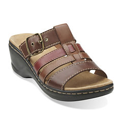 Clarks® Lexi Alloy Slide Strap Sandals
