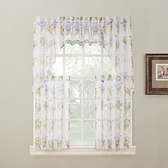 Eve's Garden Rod-Pocket Kitchen Curtains