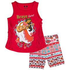 Disney by Okie Dokie 2-pc. Elena of Avalor Short Set Toddler Girls