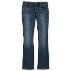 Arizona Bootcut Jeans - Girls 6-16 and Plus