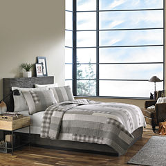 Eddie Bauer® Fairview Grey Quilt Set