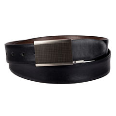 Collection by Michael Strahan Reversible Plaque Buckle Belt