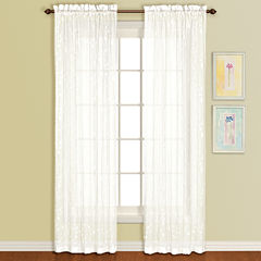 United Curtain Co Savannah Rod-Pocket Curtain Panel
