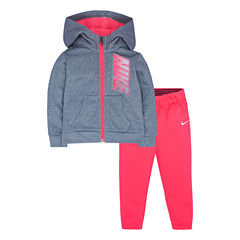 Nike 2-pc. Pant Set Baby Girls