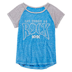 Arizona SS Burnout Rocker Tee - Girls' 7-16 & Plus