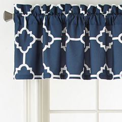 Home Expressions Rod-Pocket Tailored Valance