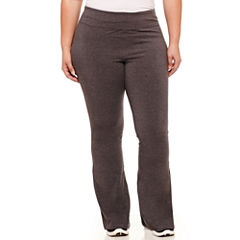 Xersion Jersey Yoga Pants-Plus