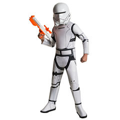 Star Wars: The Force Awakens Boys Flametrroper Super Deluxe Costume