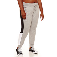 Flirtitude Jogger Pants-Juniors Plus