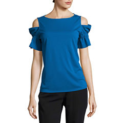 Worthington Cold Shoulder Shirt