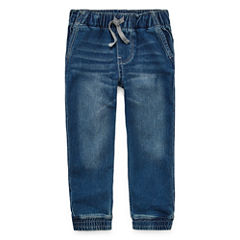Arizona Denim Jogger Pants - Toddler Boys