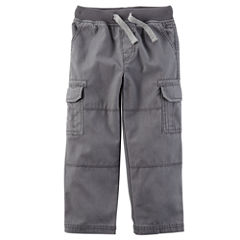 Carter's Straight Fit Cargo Pants - Toddler Boys