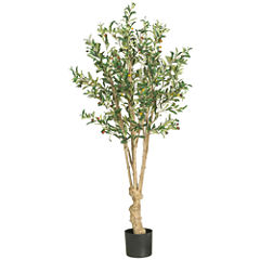 Nearly Natural 5' Olive Silk Tree