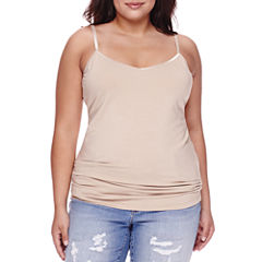 Boutique+ Essential V-Neck Cami - Plus