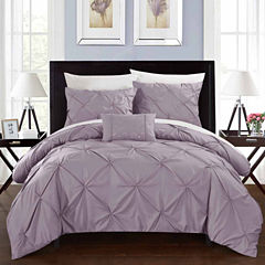 Chic Home Daya 4-pc. Duvet Cover Set