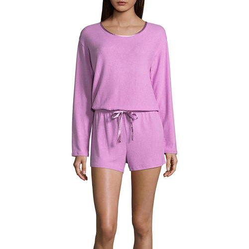 Ambrielle Long Sleeve Romper