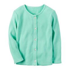 Carter's Long Sleeve Cardigan - Toddler Girls