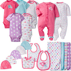 Gerber® 19 Piece Girl Birdie Layette Gift Set