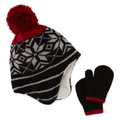 Toddler Hat & Mitten Set