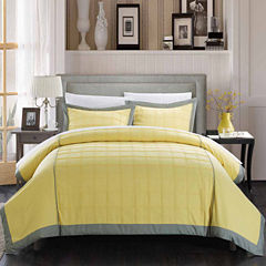 Chic Home Angelina 3 Piece Duvet Set