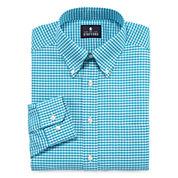 4 Stafford Men's Long Sleeve Dress Shirts for $25.96