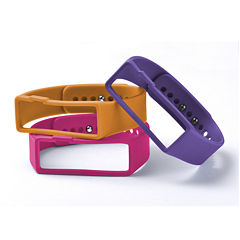 Nuband Womens 3-pr. Interchangeable Silicone Watch Bands