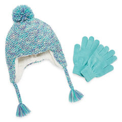 Capelli of N.Y. Pattern Cold Weather Set-Big Kid Girls