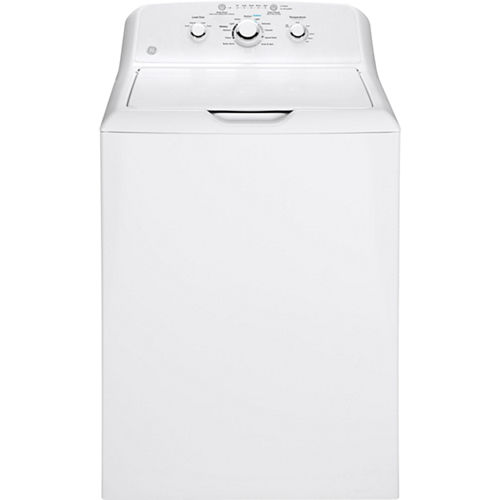 GE® 3.8 cu. ft. Electric Washer with Stainless Steel Basket