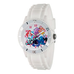 Disney Princess Ariel The Little Mermaid Womens White Strap Watch-Wds000209
