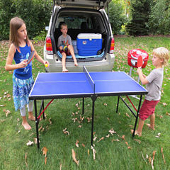 Hathaway Crossover 60-In Portable Table Tennis Table