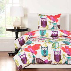 Crayola Owl Always Love You Comforter Set