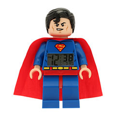 LEGO® Kids Super Heroes Superman Alarm Clock