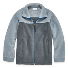 Zip-up Fleece Jacket- Boys Big Kid