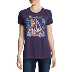 Def Leppard Graphic T-Shirt- Juniors