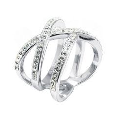 Sterling Silver Crystal Multi
