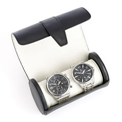 Contemporary Leather Watch Box
