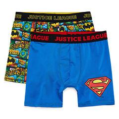Justice Leage 2 PK License  Boxer Briefs - Big Boy