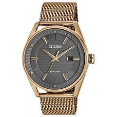 Drive from Citizen Rose Goldtone Bracelet Watch-Bm6983-51h