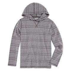 Arizona Long Sleeve Hooded Tee  Boys 8-20 & Husky