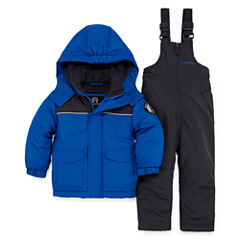 Weatherproof Heavyweight Snow Suit-Toddler Boys