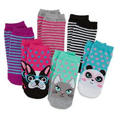 Total Girl® Animal Critter 6-pk. Socks - Girls