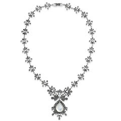 Swarovski Marcasite Statement Necklace