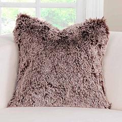 Pologear Bear Shag Throw Pillow