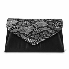 Gunne Sax by Jessica McClintock Lily Lace Envelope Clutch Evening Bag