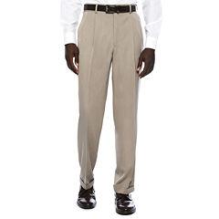Savane Micro® Melange Pleated Pants