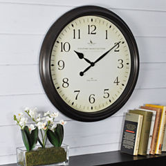 FirsTime® Avery Whisper Wall Clock