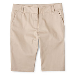 IZOD® Twill Bermuda Shorts - Preschool Girls 4-6x and Slim