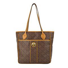 Liz Claiborne Heritage Tote Bag
